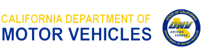 California Department of Motors Vehicles